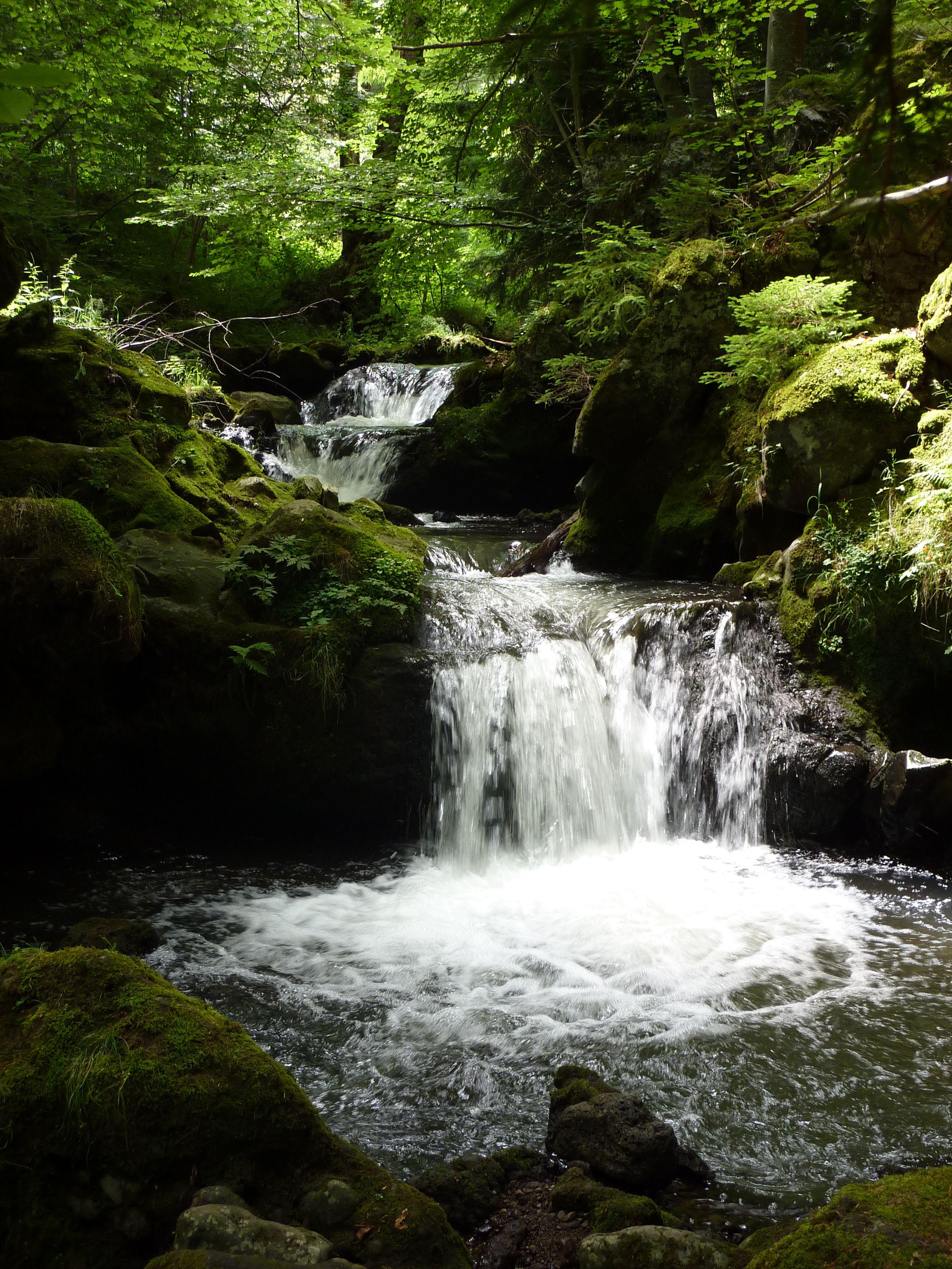 La cascade de Chiloza