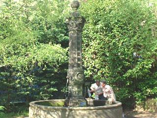 Balades autour des fontaines de Volvic