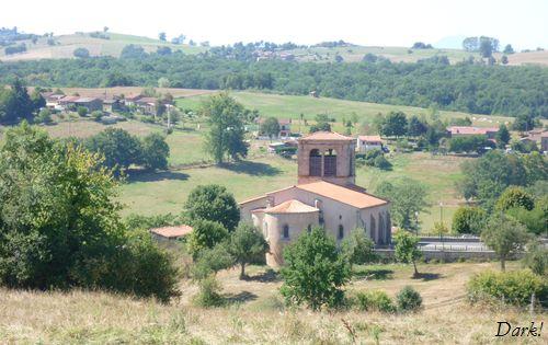 L'église de Saint Flour