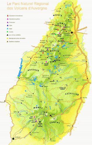 Parc Volcans d'Auvergne eauvergnat mini