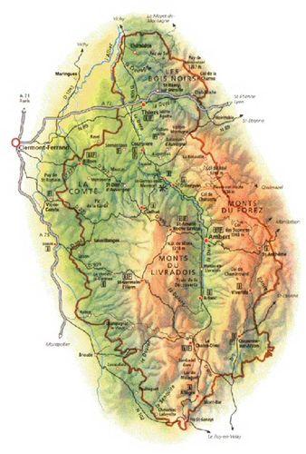 Le Parc Naturel Régional du Livradois Forez