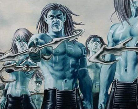 Créatures Mythologiques et fantastiques liées à l'eau