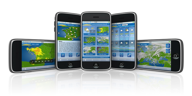 iphone meteo 24