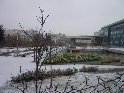 Neige 14 décembre pôle tertiaire 1