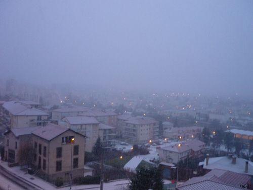 Neige 14 décembre rue de l'Oradoux 1