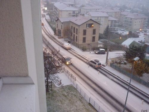Neige 14 décembre rue de l'Oradoux 3