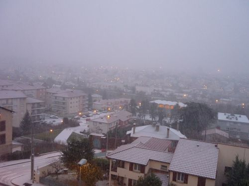 Neige 14 décembre rue de l'Oradoux