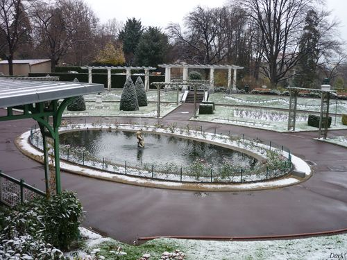 Neige jardin lecoq 14 décembre 2009 1