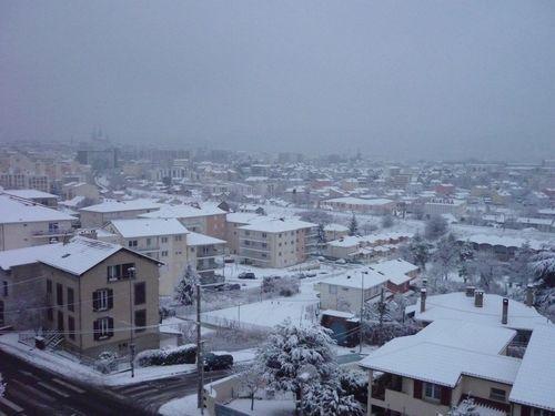 neige lundi 4 janvier 1