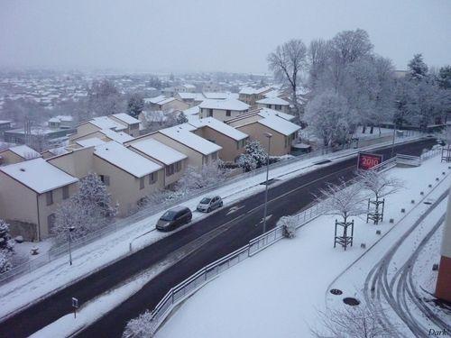 neige lundi 4 janvier 2
