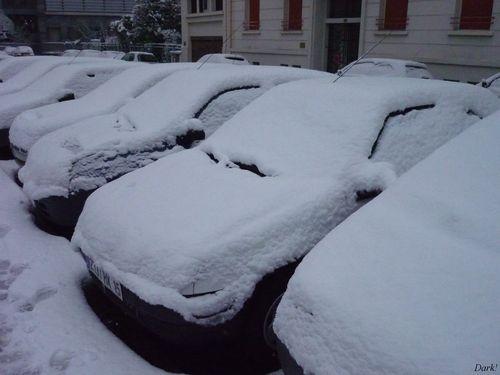 neige lundi 4 janvier 4