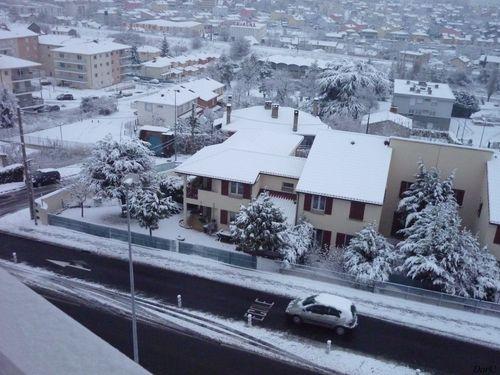 neige lundi 4 janvier