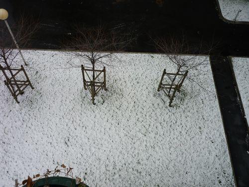 neige dernier week end de janvier 1