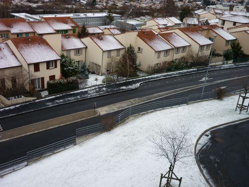neige dernier week end de janvier