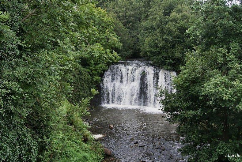 La cascade de Saillant sur la Couze Chambon