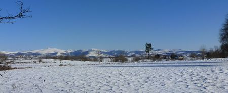 L'hiver cantalou en images