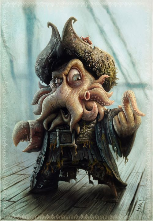 Davy Jones Thiago Hoisel