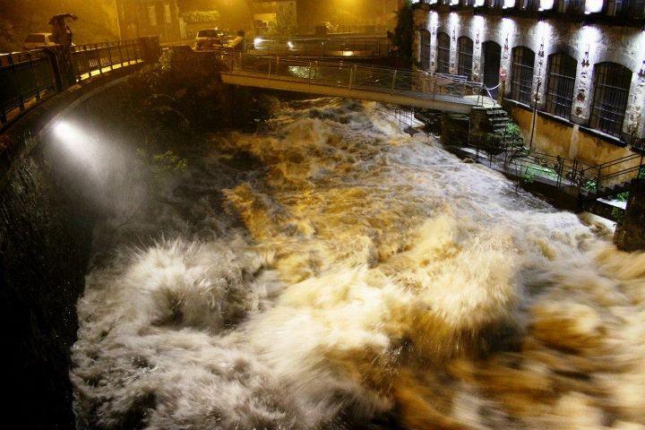 Alerte crue pour la Dore et les rivières du Livradois
