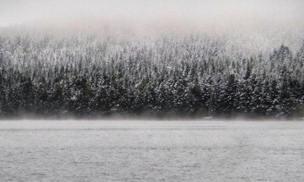 lac du bouchet hiver