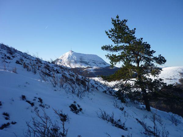 Paysages enneigés auvergnats neige puy de Dôme eauvergnat