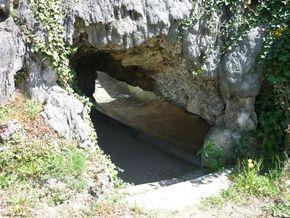 fontaine pétrifiante sainte alyre (7)Pont nature 290l