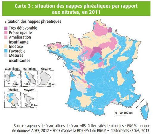 Evolution De La Teneur En Nitrates Dans Les Nappes Phreatiques on What Is A Phr