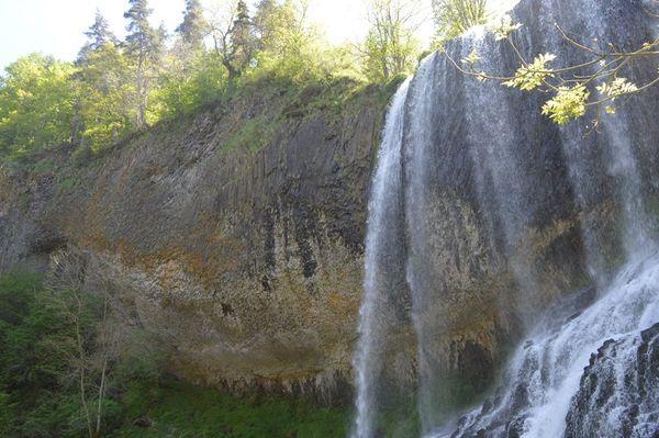 cascade de la beaume vue partielle (haut)