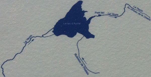 lac d'Aydat carte