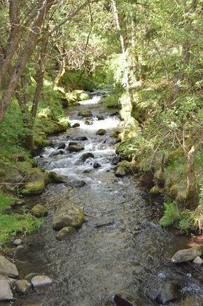 rivière Ourzie Cascade de la Beaume