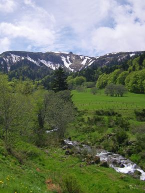 torrents affluents de la Dordogne massif du Sancy (290)