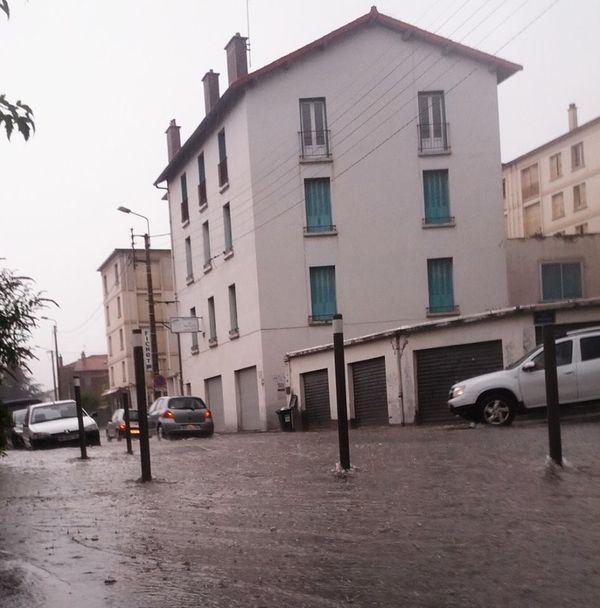 orage 23 juillet 2013 clermont-Ferrand