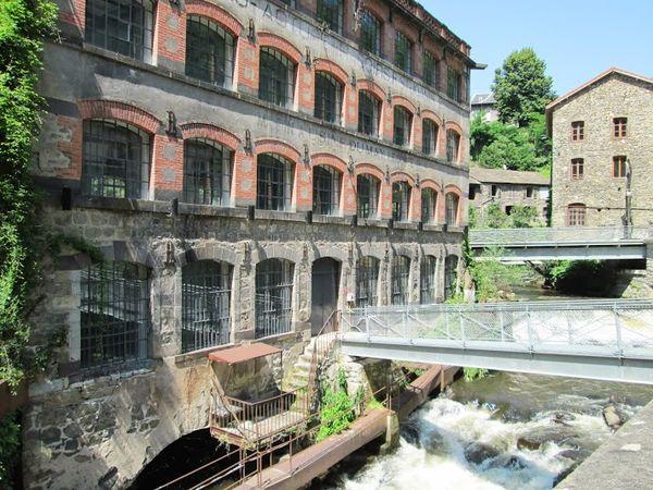 Vallée des usines creux de l'enfer durolle (3) usine du May