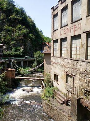 La Durolle dans la vallée des usines