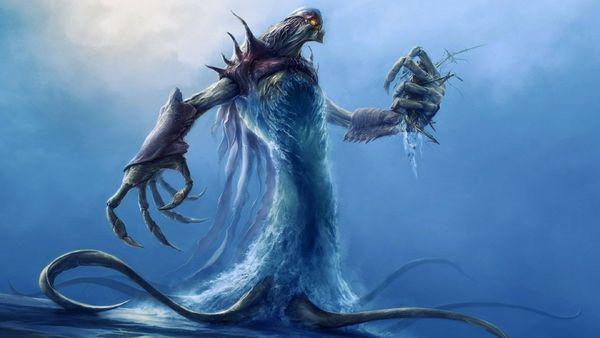 water monsters fantasy art creatures artwork  monstres marins