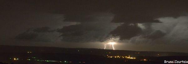 Photos de l'orage du 2 août 2013
