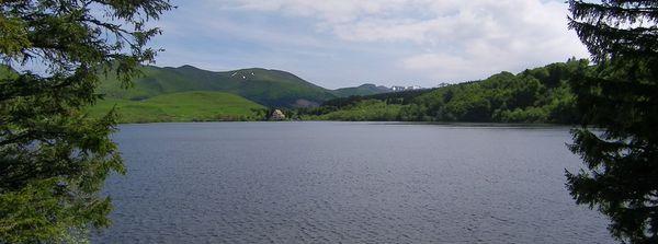 panoramique lac du guéry