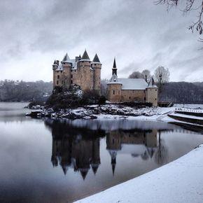 Château de Val   hiver 290