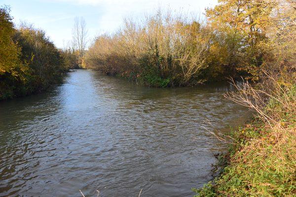 La confluence entre le Bédat et la Morge