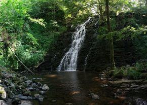 cascade pont de roche Cantal 290