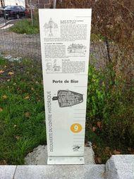 panneau information Montferrand