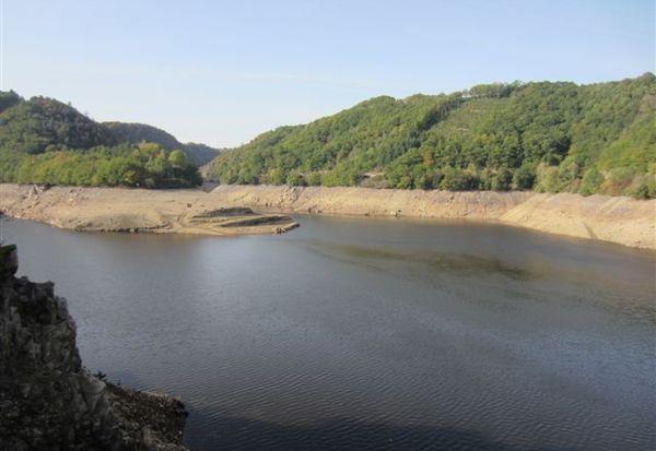 Vidange barrage Fades Besserve (1)