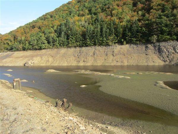 Vidange barrage Fades Besserve (5)