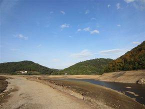 Vidange barrage Fades Besserve (7) 290