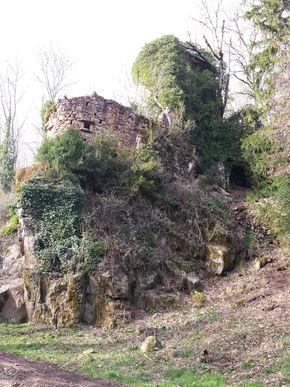 forteresse moulin valée du Madet