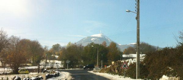 puy de Dôme enneigé 16 novembre 2013