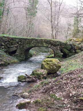 vallée du Madet vieux pont des pirins et pont des buys
