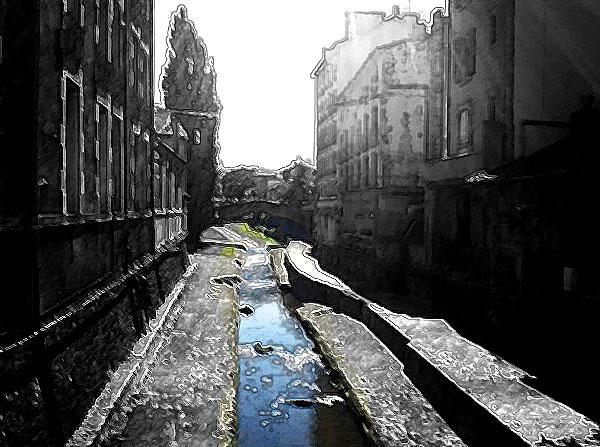 Le Dolaizon petite rivière de Haute-Loire