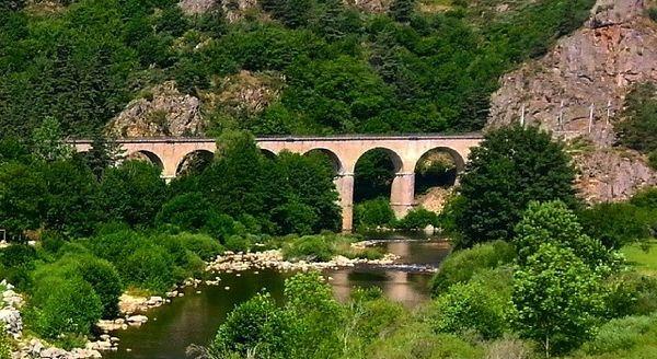 Pont gorges de l'Allier