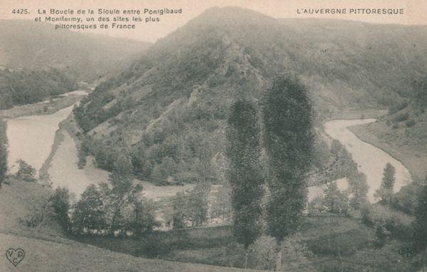 Sioule entre Pontgibaud et Montfermy