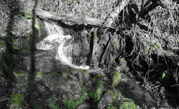 Cascade ruisseau de ternant ruisseau des Valettes